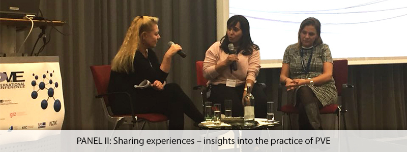 PANEL II: Sharing experiences – insights into the practice of PVE