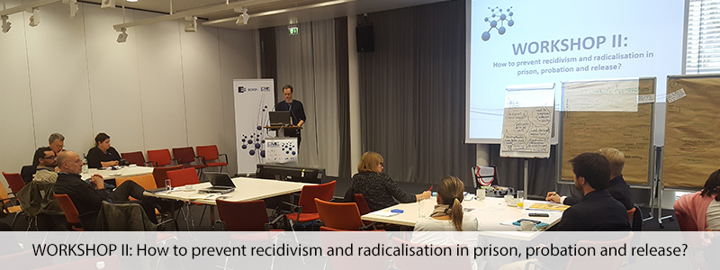 WORKSHOP II: How to prevent recidivism and radicalisation in prison, probation and release?